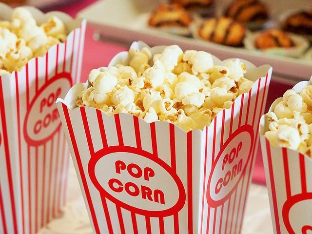 popcorn do kina