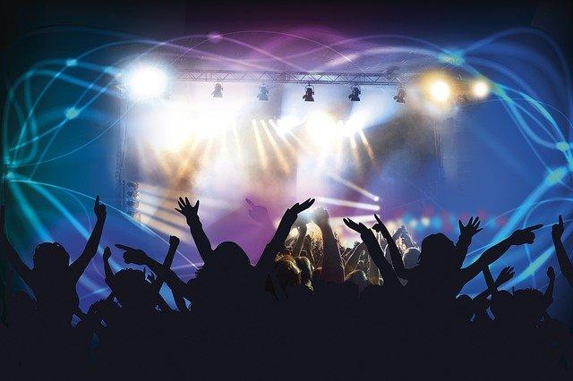živý koncert