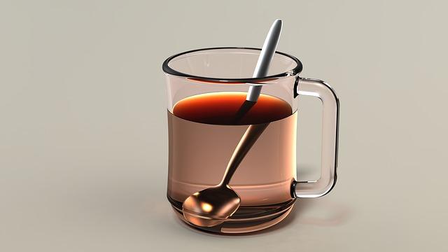 hrníček s čajem
