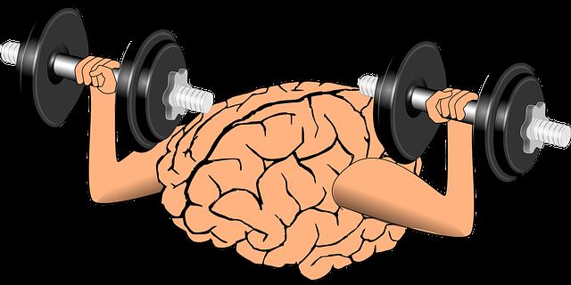 mozek s činkama