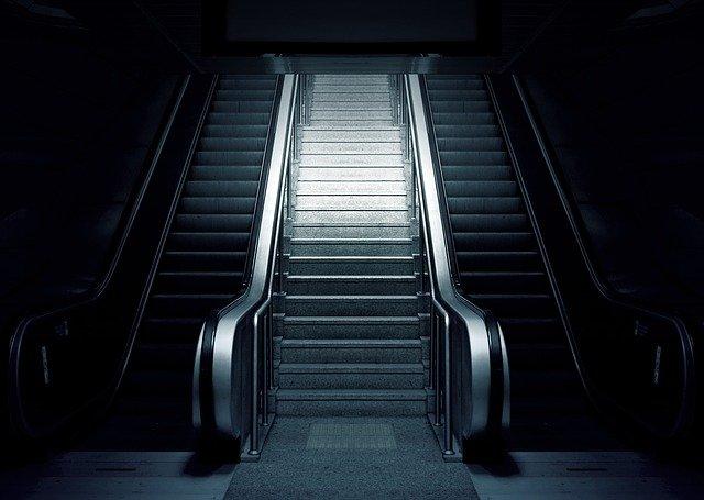 schody vzhůru