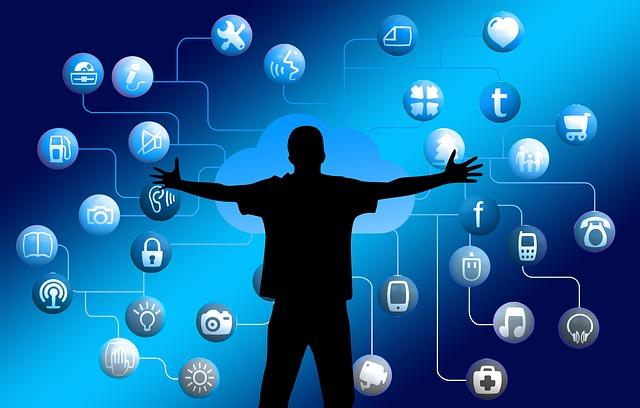 muž a informační a komunikační technologie