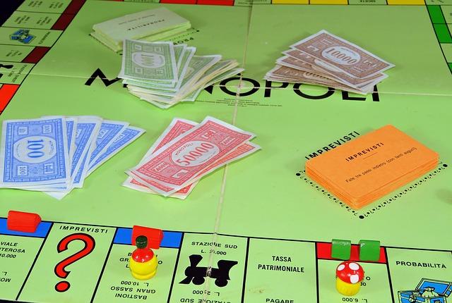 desková hra monopol