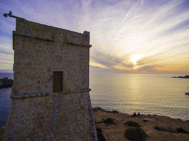 malta strážní věž