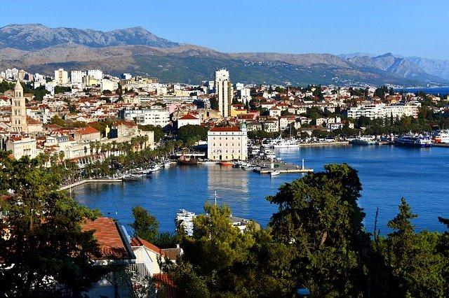pobřeží Splitu