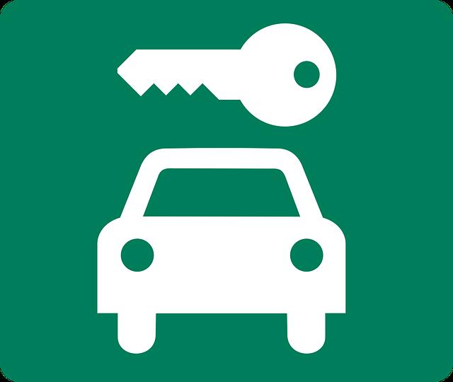 auto a klíč
