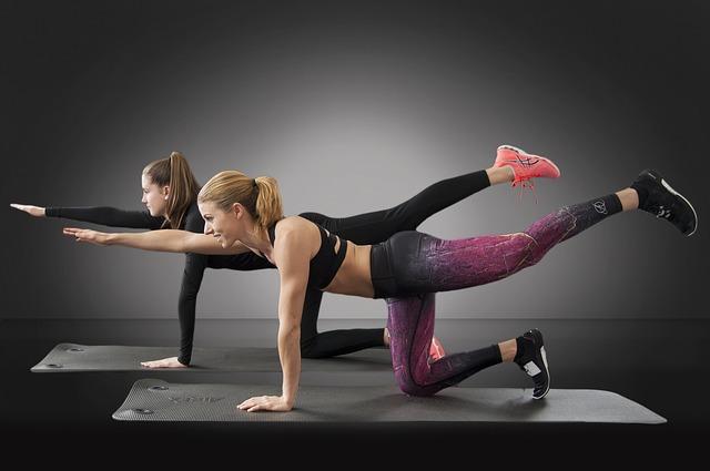 cvičení ve dvou