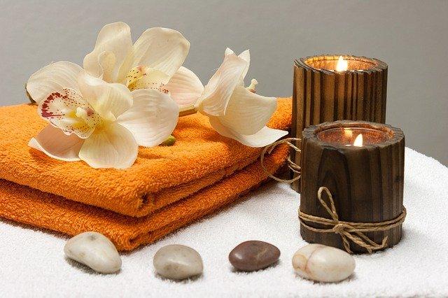svíčky k masáži