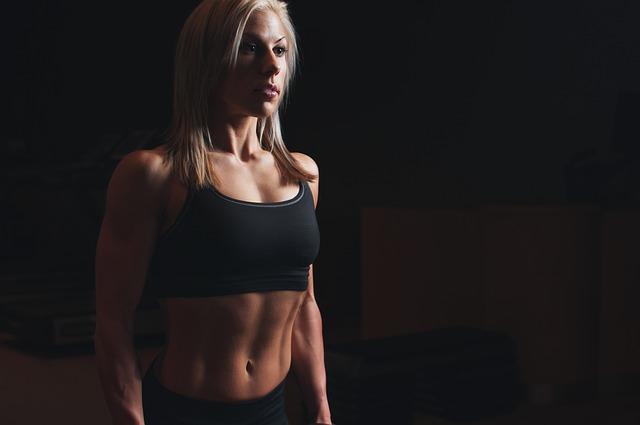 tělo atletky