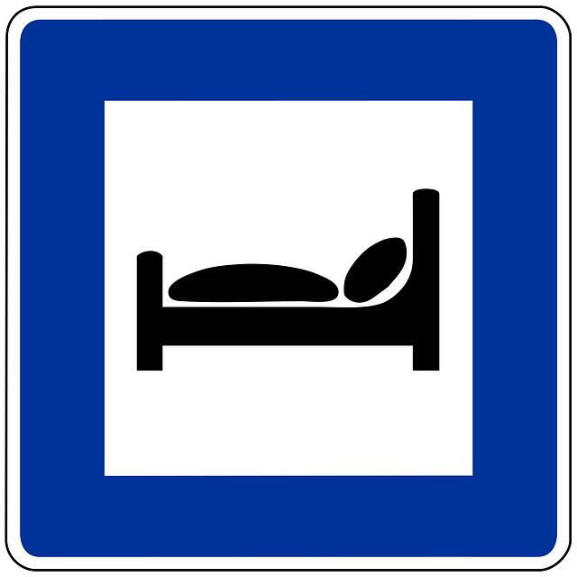 piktogram ubytování